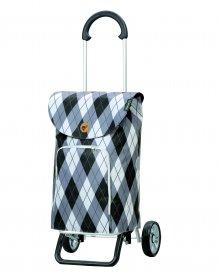 Nákupní taška na kolečkách Andersen Scala Shopper Plus Arik, šedá,41l