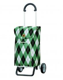 Nákupní taška na kolečkách Andersen Scala Shopper Plus Arik, zelená, 41l