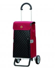 Nákupní taška na kolečkách Andersen Scala Shopper Plus Mari, červená, 45l