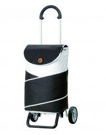 Nákupní taška na kolečkách Andersen Scala Shopper Plus  Jarl šedá, 41l