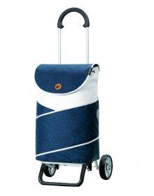 Nákupní taška na kolečkách Andersen Scala Shopper Plus  Jarl, modrá, 41l