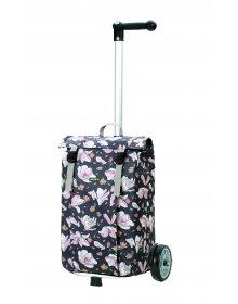 Nákupní taška na kolečkách Andersen Unus Shopper Basil Mag. rosa