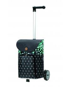 Nákupní taška na kolečkách Andersen Unus Shopper Lily tyrkysová