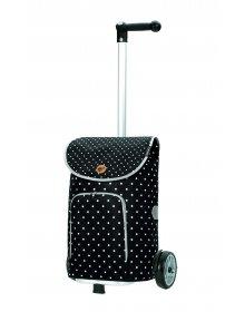 Nákupní taška na kolečkách Andersen Unus Shopper Ole černá