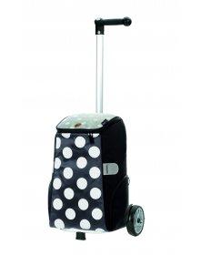Nákupní taška na kolečkách Andersen Unus Shopper Mats šedá