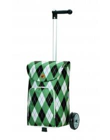 Nákupní taška na kolečkách Andersen Unus Shopper Arik zelená