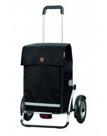 Velká taška na kolečkách Andersen Royal Shopper Plus Martje černá