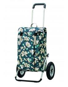 Nákupní taška na kolečkách Andersen Royal Shopper Basil Mag. modrá