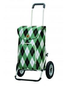 Nákupní taška na kolečkách Andersen Royal Shopper Arik zelená