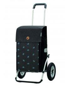 Nákupní taška na kolečkách Andersen Royal Shopper Ando šedá