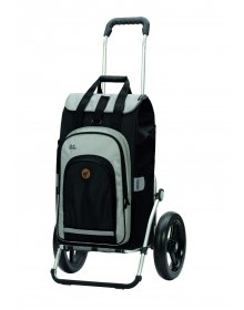 Nákupní taška na kolečkách Andersen Royal Shopper Hydro 2.0 černá, kolečko s kul.ložisky 29 cm