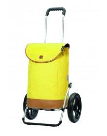 Nákupní taška na kolečkách Andersen Royal Shopper Emil žlutá
