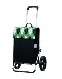 Nákupní taška na kolečkách Andersen Royal Shopper Anea zelená