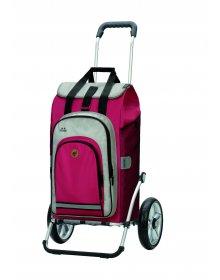 Nákupní taška na kolečkách Andersen Royal Shopper Hydro 2.0 červená