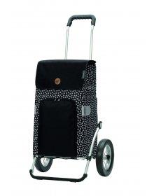 Nákupní taška na kolečkách Andersen Royal Shopper Mara černá
