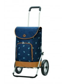 Nákupní taška na kolečkách Andersen Royal Shopper Holm modrá