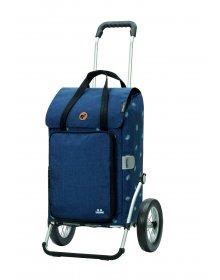 Nákupní taška na kolečkách Andersen Royal Shopper Ivar modrá