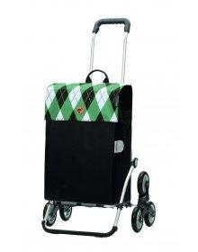 Nákupní taška do schodů Andersen Royal Sh. Treppenst Anea zelená
