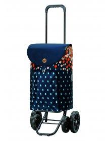 Nákupní taška na kolečkách Andersen Quattro Shopper Lily orange
