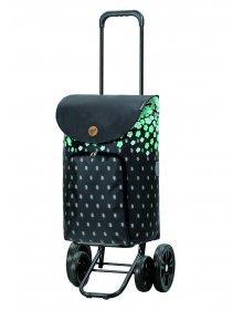 Nákupní taška na kolečkách Andersen Quattro Shopper Lily türkis