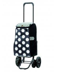 Nákupní taška na kolečkách Andersen Quattro Shopper Mats šedá