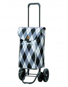Nákupní taška na kolečkách Andersen Quattro Shopper Arik šedá