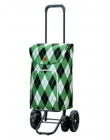 Nákupní taška na kolečkách Andersen Quattro Shopper Arik zelená