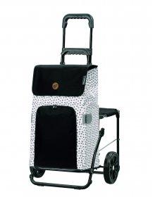 Nákupní taška se sedátkem Andersen Komfort Shopper Mara bílá