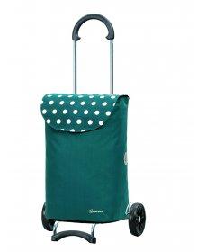 Nákupní taška Andersen SCALA SHOPPER® ELBA, zelená - petrol