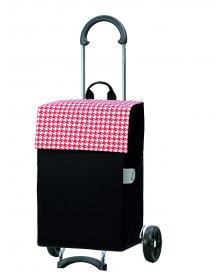 Nákupní taška na kolečkách Andersen SCALA SHOPPER® IKO, červená