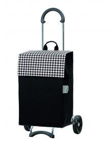 Nákupní taška na kolečkách Andersen SCALA SHOPPER® IKO, černá