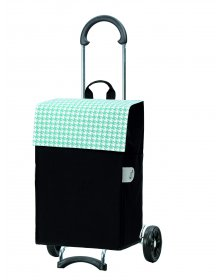 Nákupní taška na kolečkách Andersen SCALA SHOPPER® IKO, tyrkysová, 44l