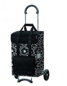 Nákupní vozík na kolečkách Andersen SCALA SHOPPER® ALBA, černá, 48l