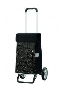 Nákupní taška na kolečkách Andersen ALU STAR SHOPPER® DIVA, zlatá, 43l