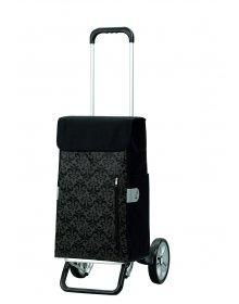 Nákupní taška na kolečkách Andersen ALU STAR SHOPPER® DIVA, černá, 43l