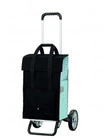 Nákupní taška na kolečkách Andersen ALU STAR SHOPPER® EDA, tyrkysová, 50l