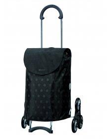 Nákupní taška Andersen TREPPENSTEIGER SCALA SHOPPER® GITTI  - DO SCHODŮ, černá