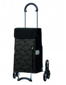 Nákupní taška Andersen TREPPENSTEIGER SCALA SHOPPER® DIVA - DO SCHODŮ, černá