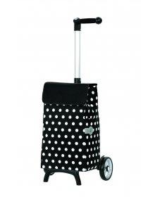 Nákupní taška Andersen UNUS SHOPPER® FUN ELFI, černá
