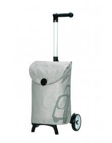 Nákupní taška Andersen UNUS SHOPPER® FUN PEPE, stříbrná