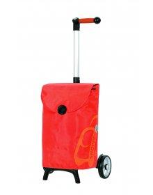 Nákupní taška Andersen UNUS SHOPPER® FUN PEPE, oranžová