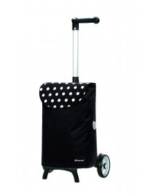 Nákupní taška Andersen UNUS SHOPPER® FUN ELBA, černá