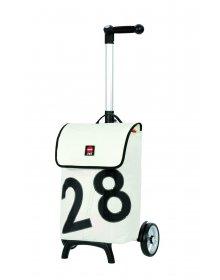 Nákupní taška Andersen UNUS SHOPPER® 360° LUV 28, bílá