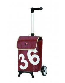 Nákupní taška Andersen UNUS SHOPPER® 360° LUV 36, hnědá