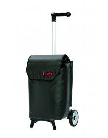 Nákupní taška Andersen UNUS SHOPPER® FUN TRUCK CARBON, černá