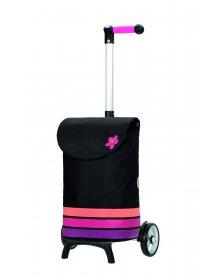 Nákupní taška Andersen UNUS SHOPPER® FUN BLOM, růžová