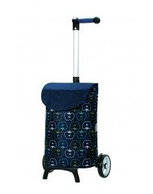Nákupní taška Andersen UNUS SHOPPER® FUN HAVA, modrá