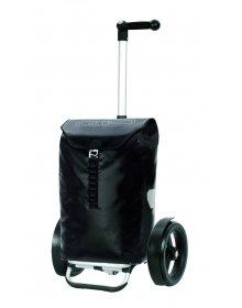 Taška na kolečkách Andersen TURA SHOPPER® ORTLIEB, kolečka s kuličkovými ložiskami, černá