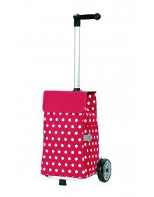 Nákupní taška Andersen UNUS SHOPPER® ELFI, červená