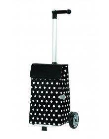 Nákupní taška Andersen UNUS SHOPPER® ELFI, černá